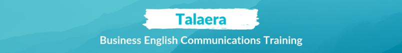 Talaera Business English Communications Training