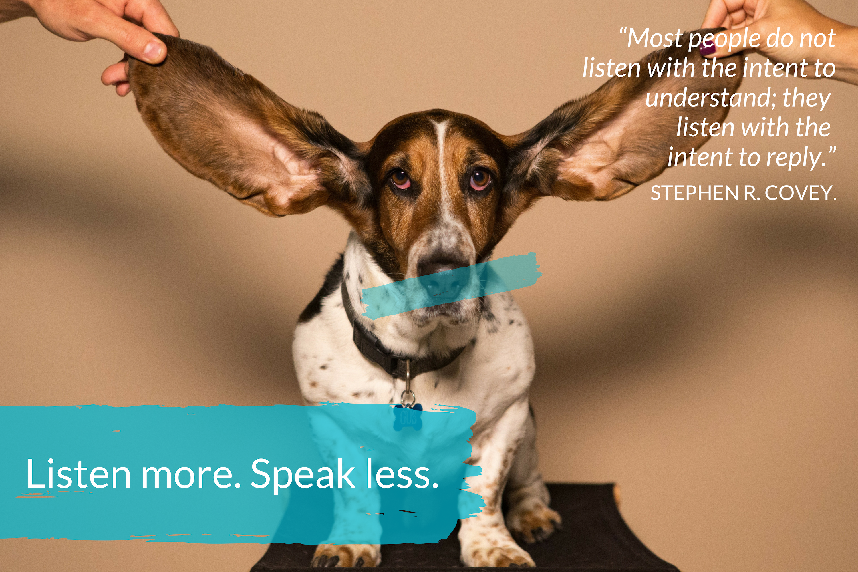 1 Conversation Skills - listen more