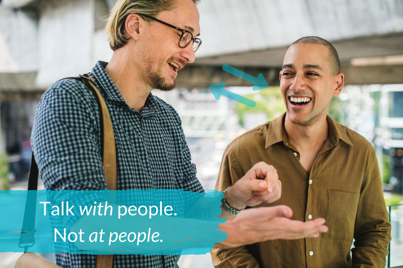 3 Conversation Skills - Talk with people