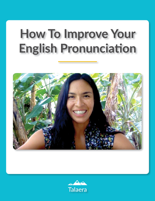 How to improve your accent in English - Talaera Guide PDF