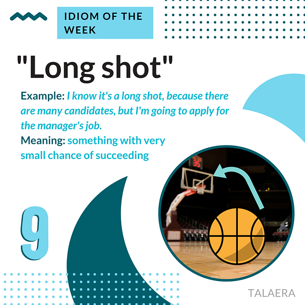 Business English Idioms - long shot