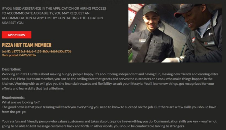 Talaera HR Expert Series - PizzaHut