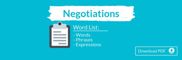 Talaera HR Series Negotiations Wordlist