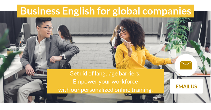 Business English for cool companies Talaera