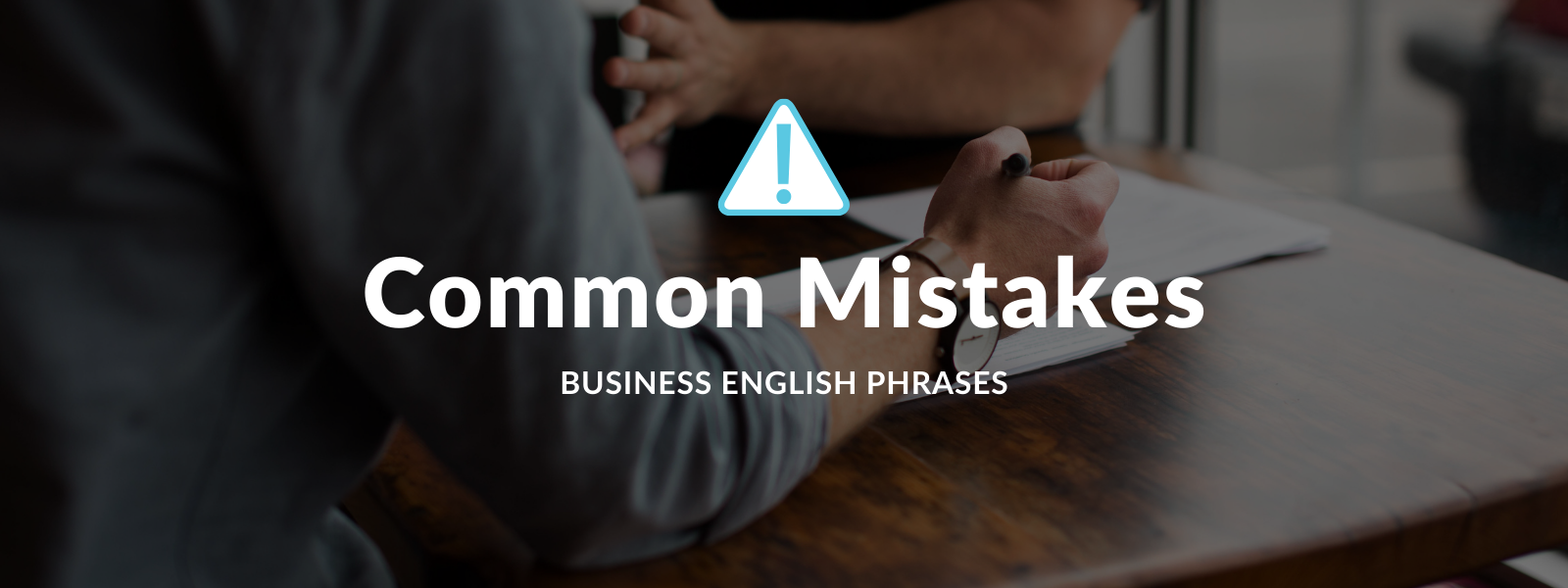 Common mistakes business English phrases Talaera