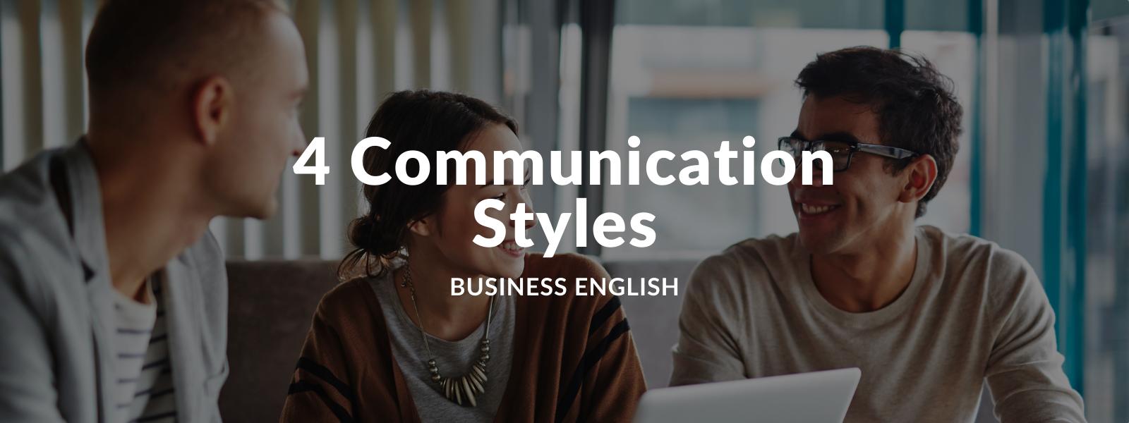 Communication Styles - Talaera Business English Training