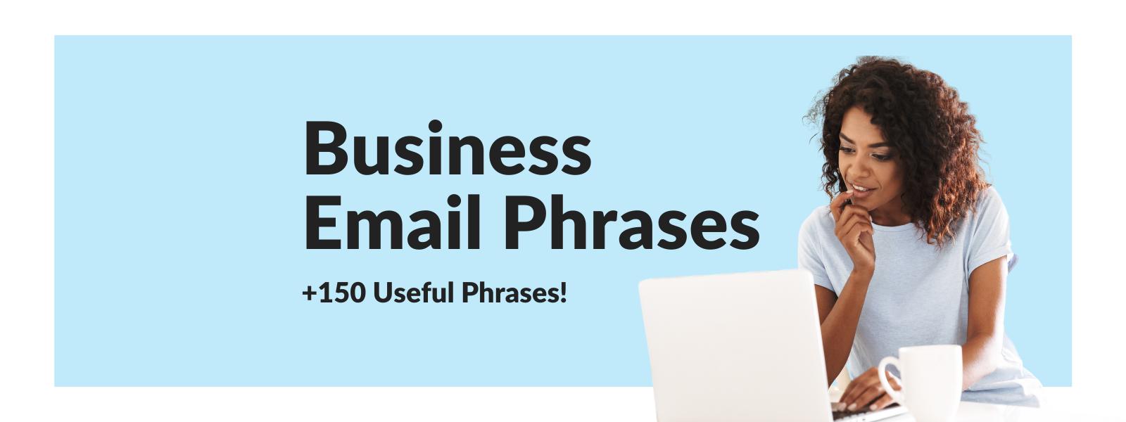 Useful Business Email Phrases | Talaera Business English Training