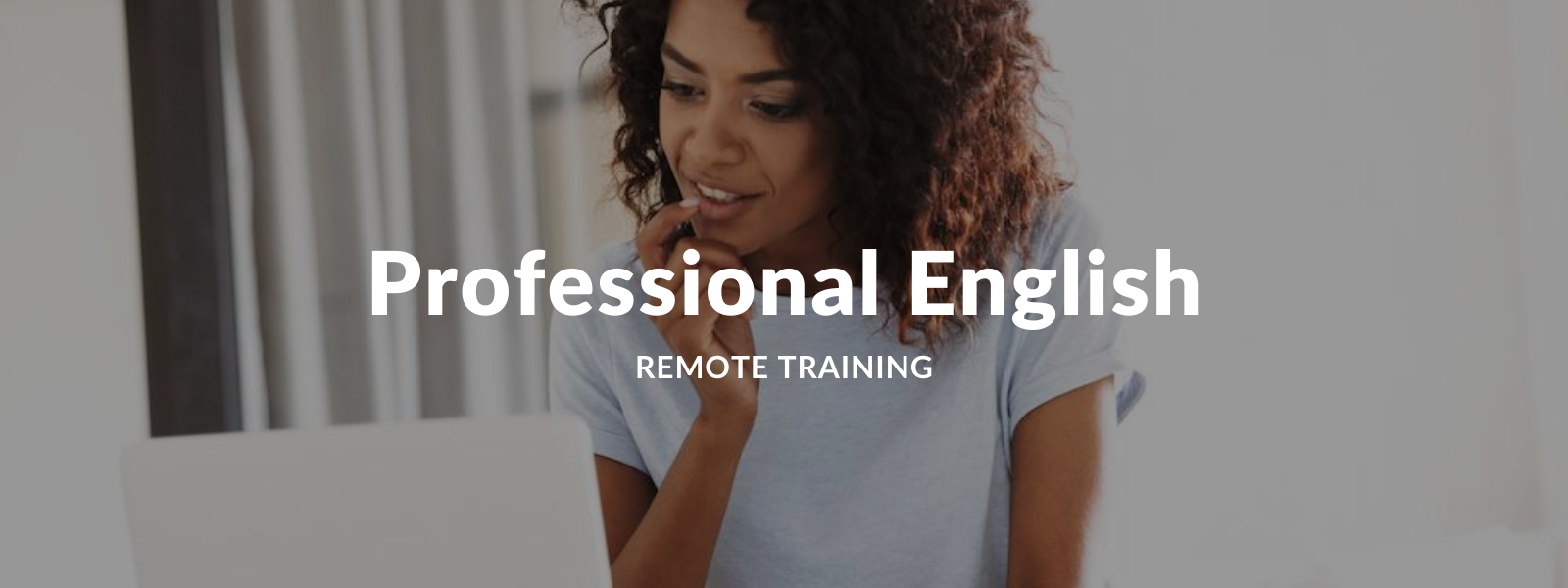 Remote employee training - Professional English Training Online