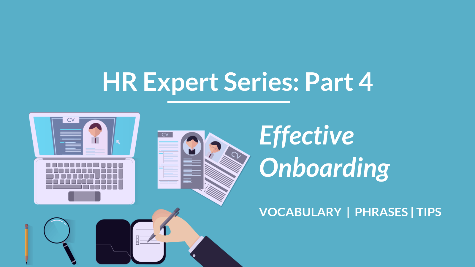 Talaera - HR Vocabulary Series - Onboarding vocabulary