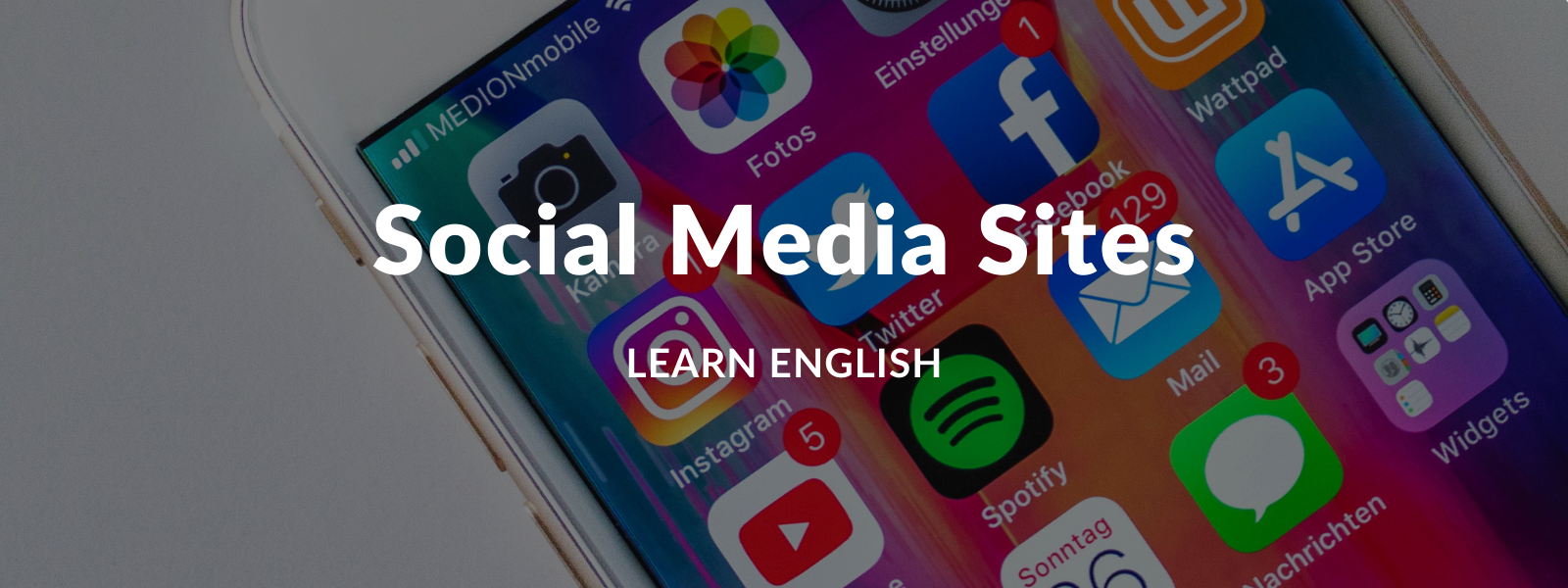 Practice English with social media - Talaera Business English Training