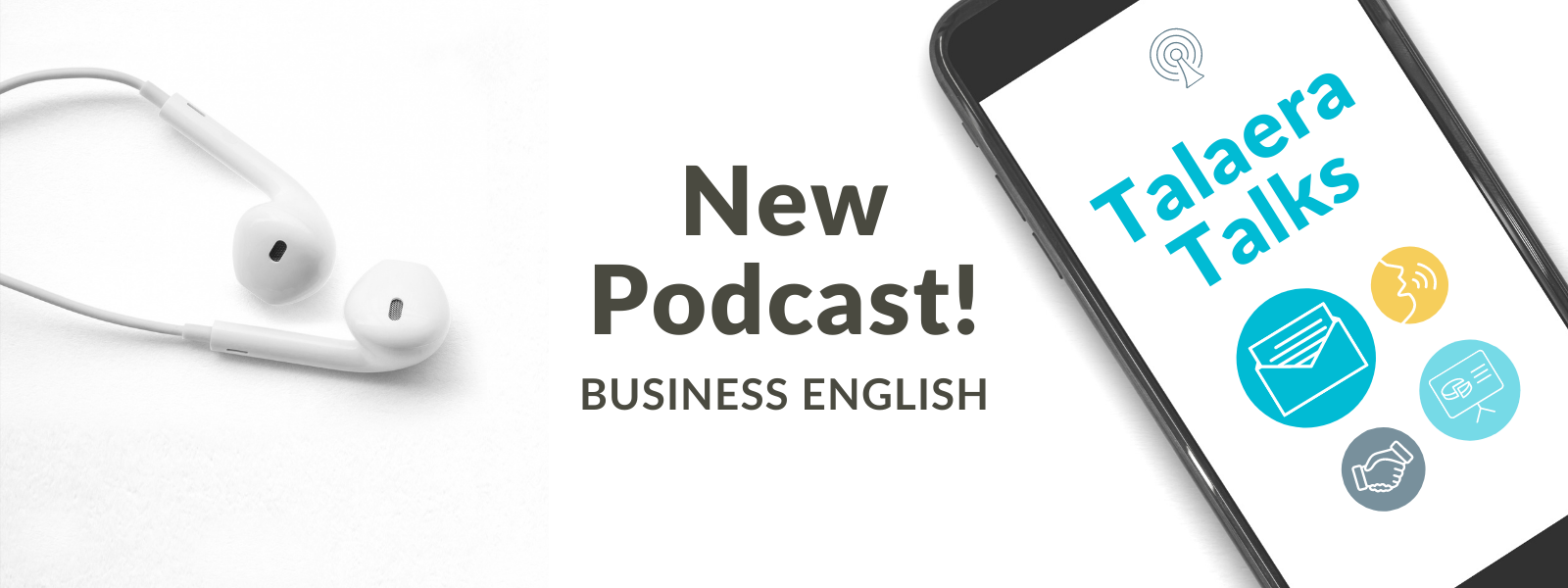 Talaera Talks Business English communication podcast for non-native professionals