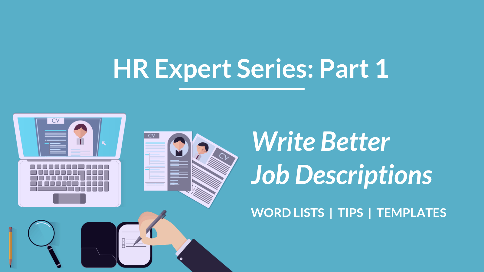 Talaera HR Expert Series - Part 1 - Job Descriptions
