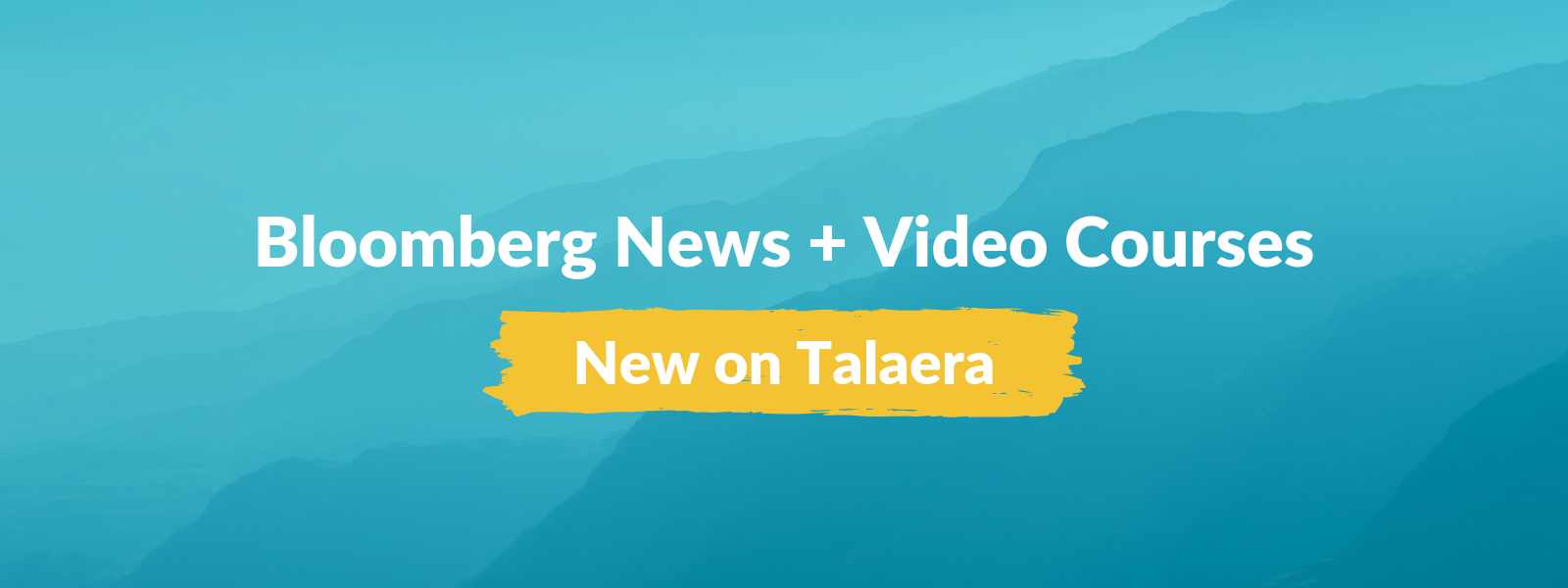 Talaera Product Update 2019 Bloomberg News and Video