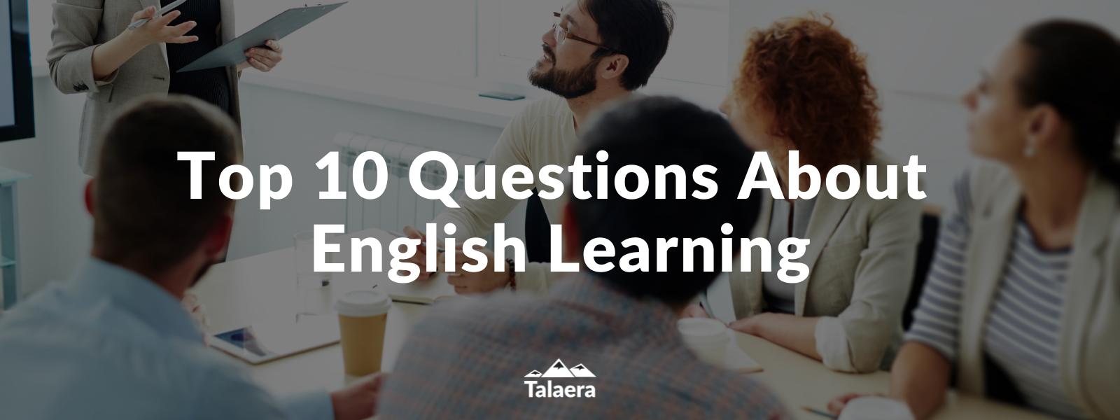 English Language Learning - Talaera Business English